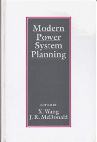 Image of Modern Power System Planning
